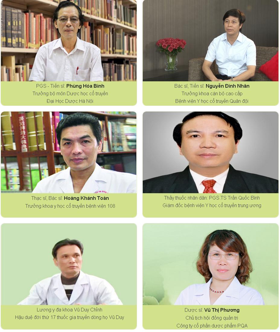 hội đồng chuyên gia tư vấn PQA