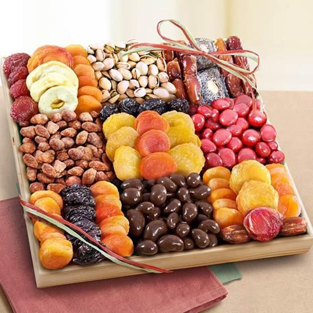 hoa quả khô