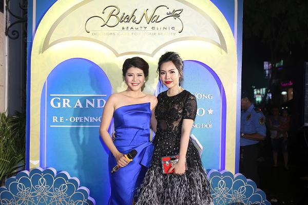[Bichna Beauty Clinic]                                           NSƯT Kim Xuân và con dâu rạng rỡ tại sự kiện làm đẹp                                     4740